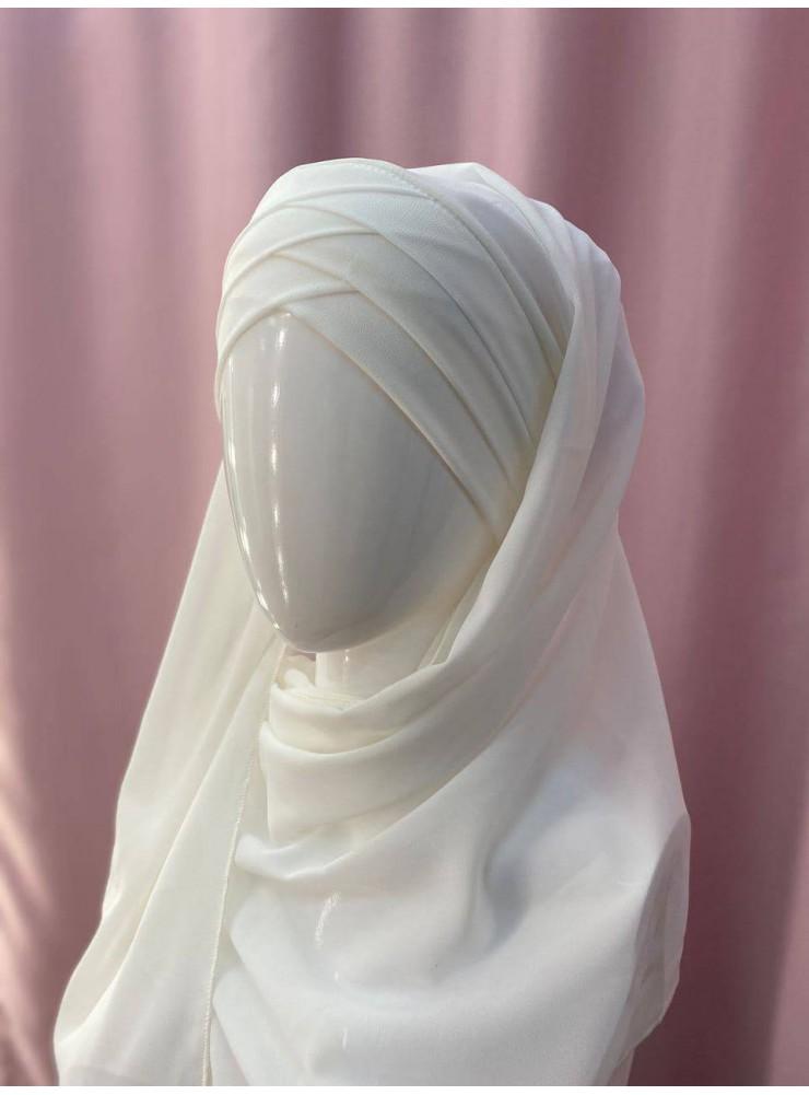 Готовый платок белый