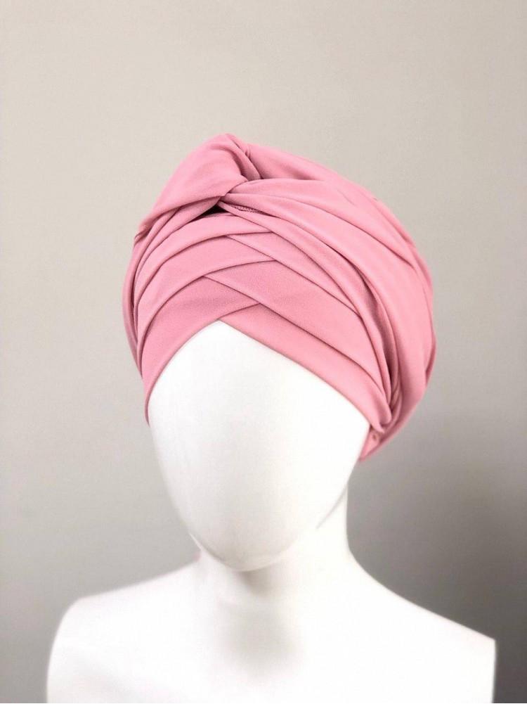 Готовый платок розовый
