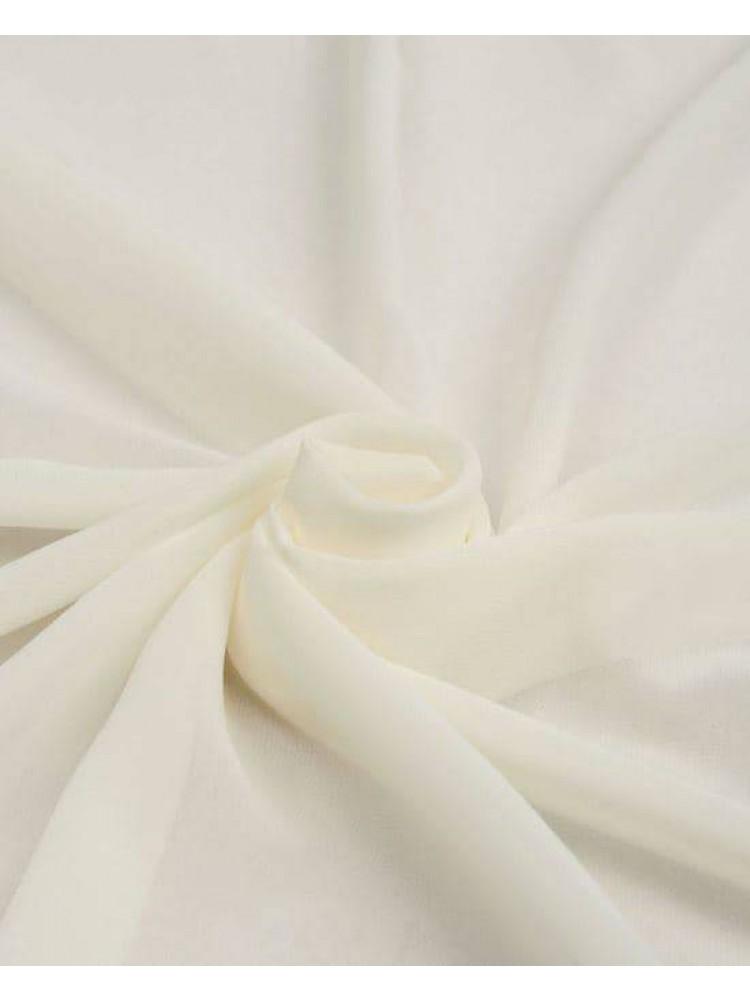 Палантин шарф шифон платок айвори