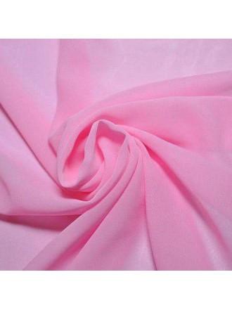 Палантин шарф шифон платок розовый