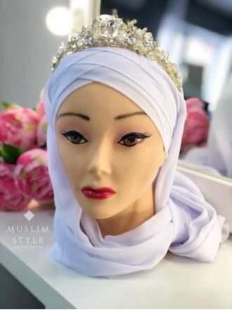 Готовый головной убор белый