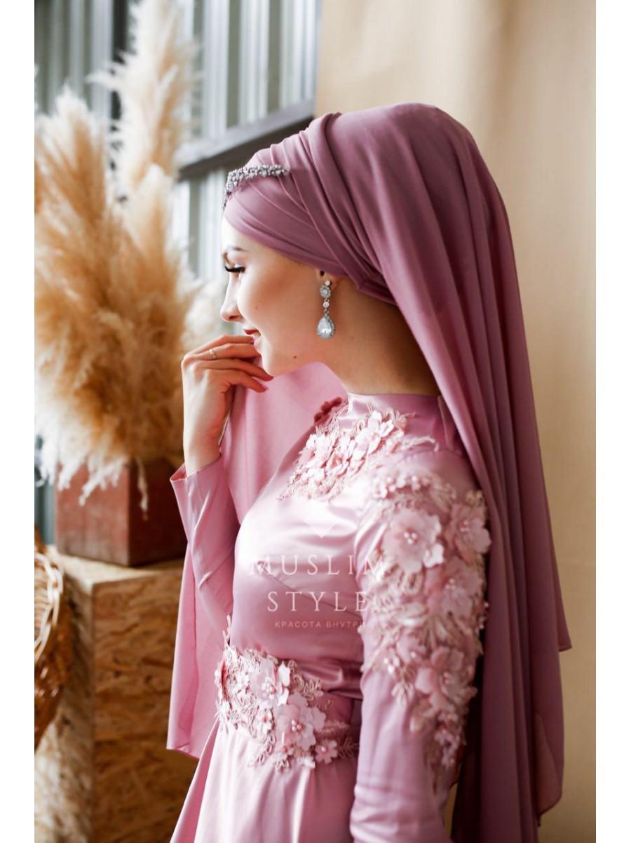 """Платье """"Наргиза"""" в розовом"""