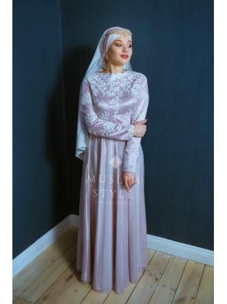 Платье «Ева» розовое