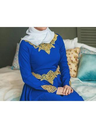 Платье «Абелин» в синем