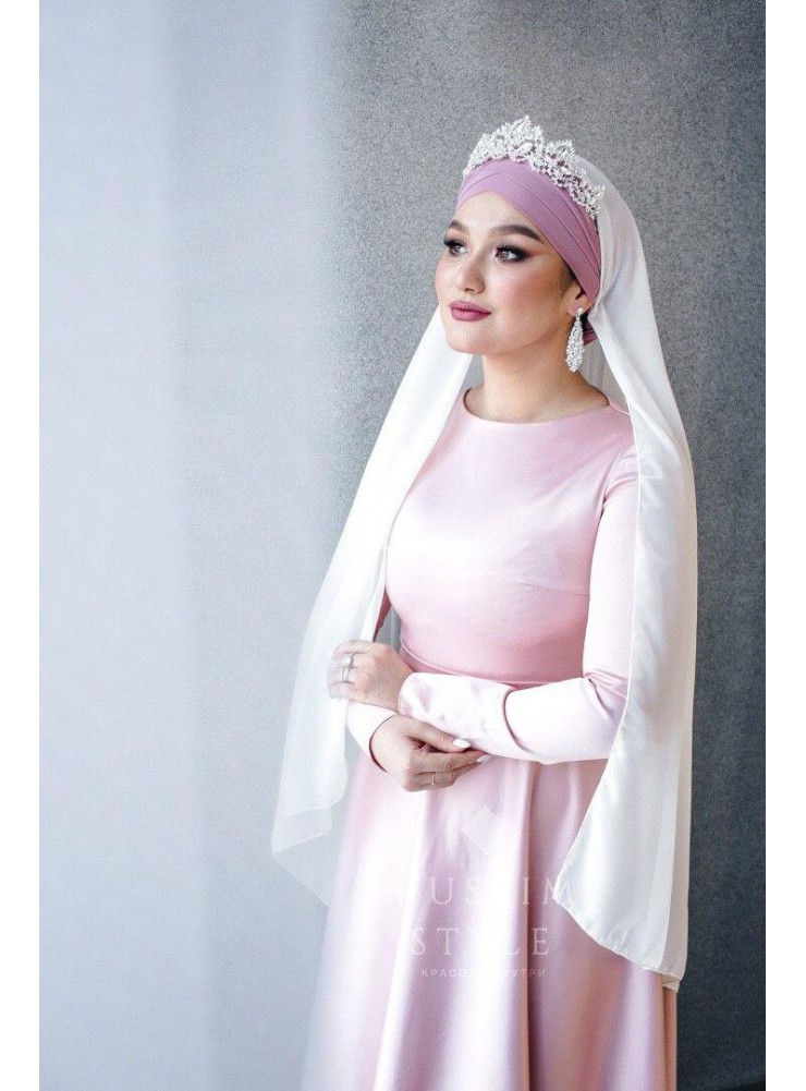 Платье «Нармин» в розовом цвете