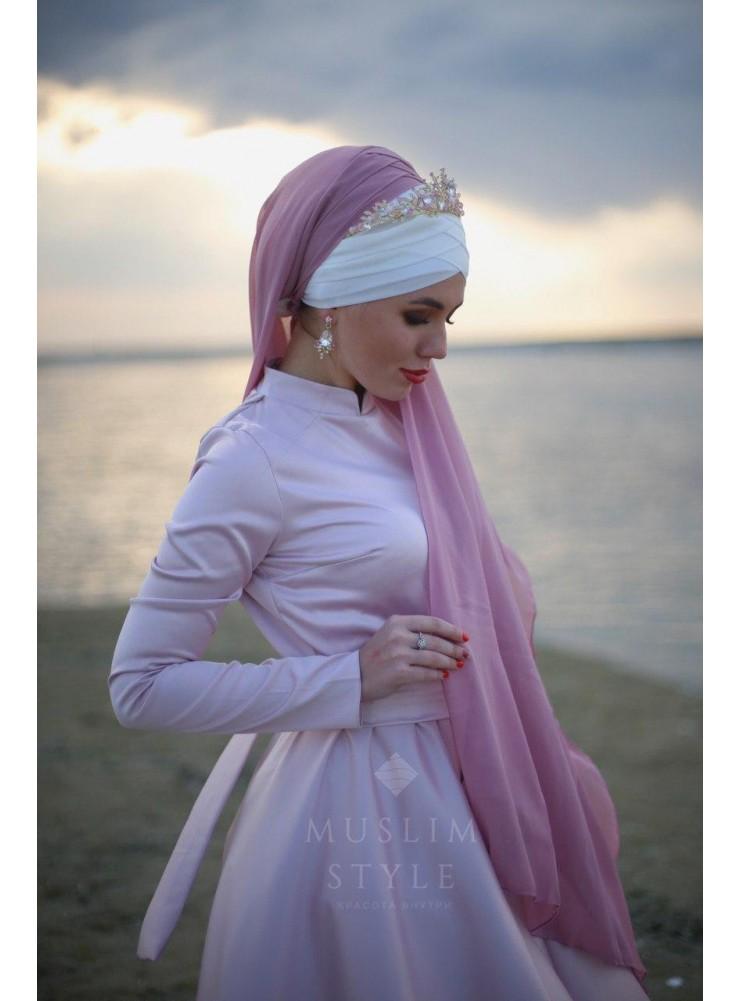 Платье «Амелия» в розовом цвете