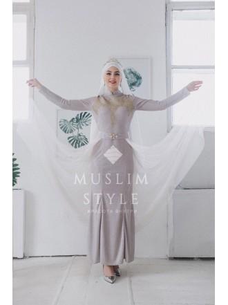 Платье «Русалка» со съемной Юбкой люрекс