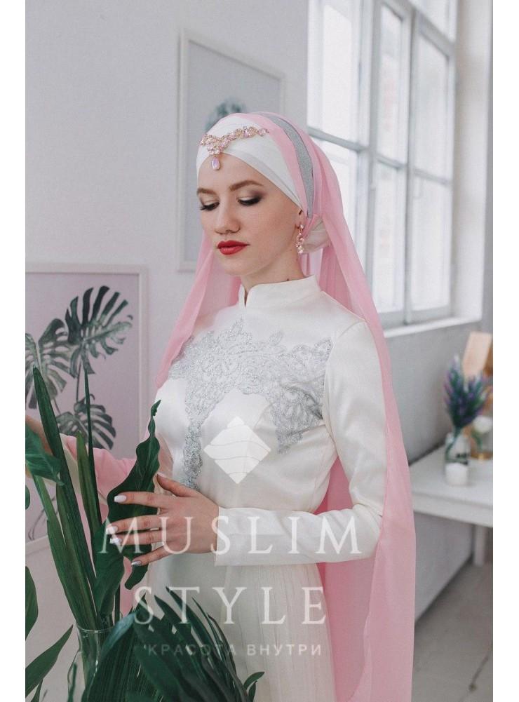 Платье «Русалка» со съемной Юбкой в молочном цвете